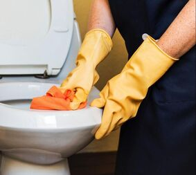SMI Facility Services office cleaning includes lavatories.